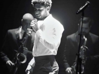 Jussie Smollet performing at Appolo theater (As Seen On)